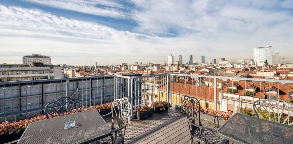 Best Western Plus Hotel Galles - Rooftop Terrace
