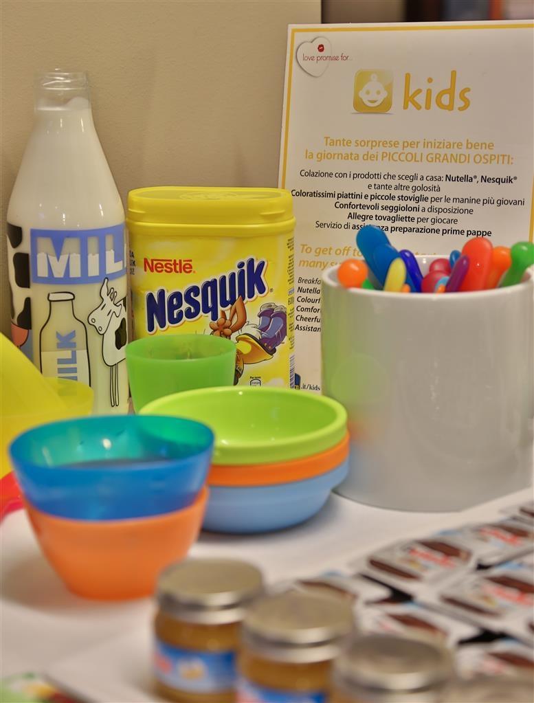 Best Western Hotel Metropoli - Kids buffet