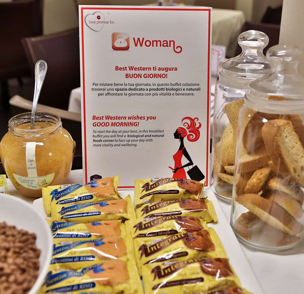 Best Western Hotel Metropoli - Breakfast buffet for Women