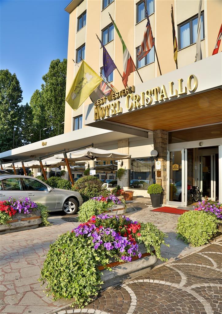 Best Western Hotel Cristallo - Außenansicht
