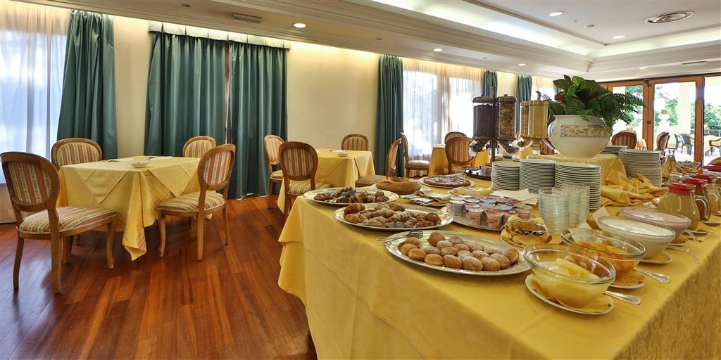 Best Western Hotel Fiuggi Terme Resort & Spa - Breakfast area