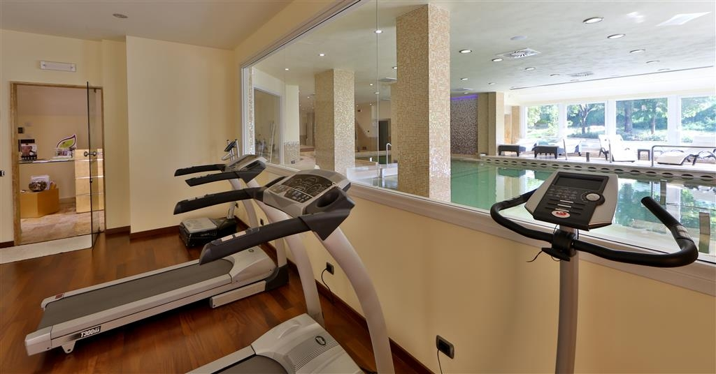 Best Western Hotel Fiuggi Terme Resort & Spa - Fitness Center