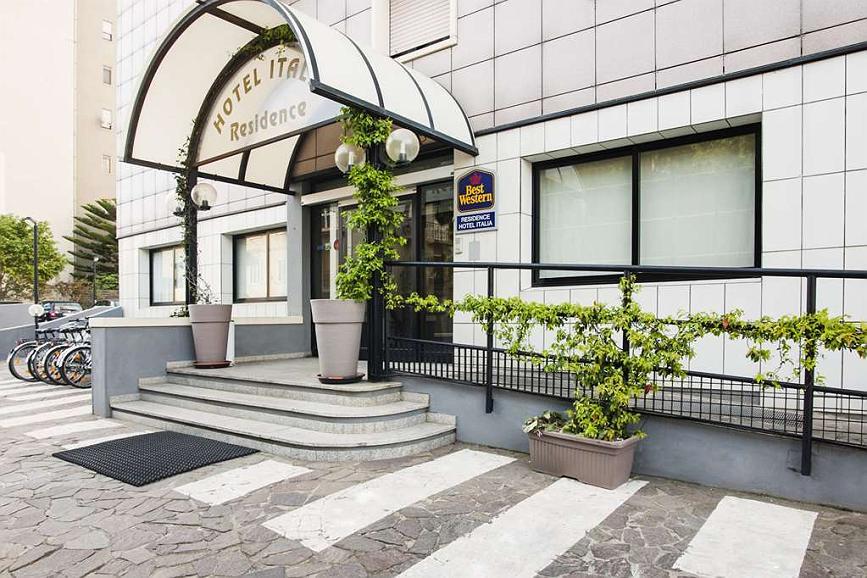 Best Western Hotel Residence Italia - Aussenansicht