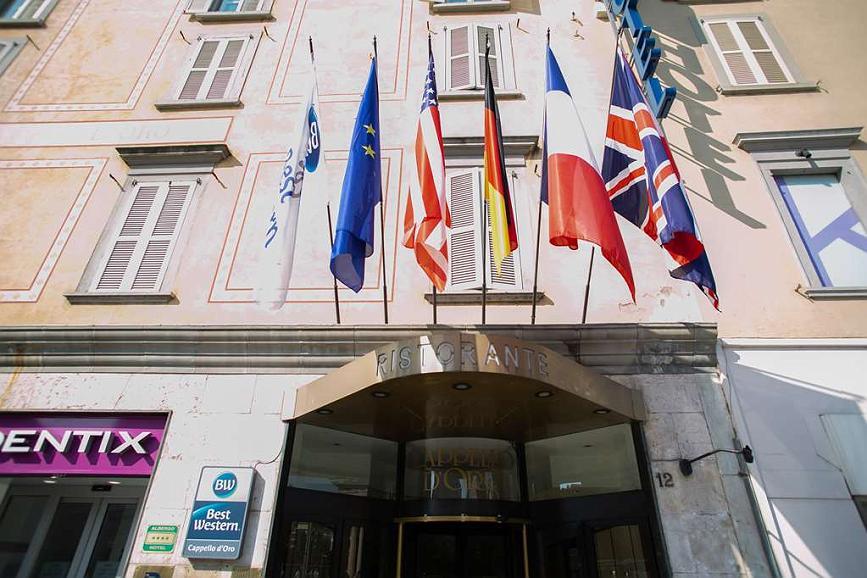 Best Western Hotel Cappello D'Oro - Aussenansicht