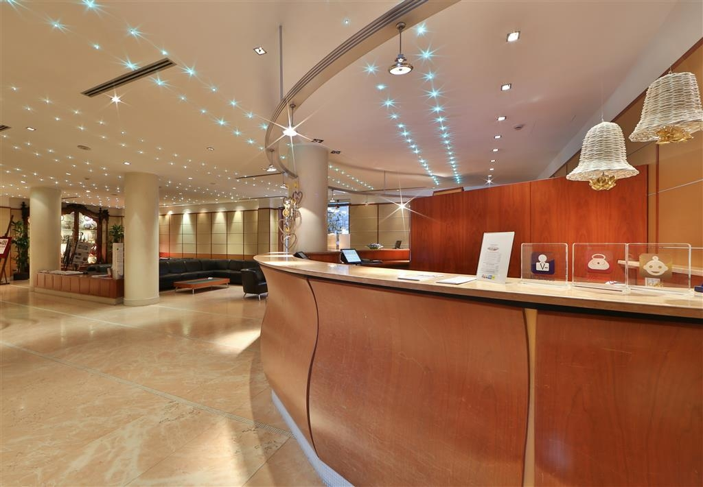 Best Western Hotel Cappello D'Oro - Reception