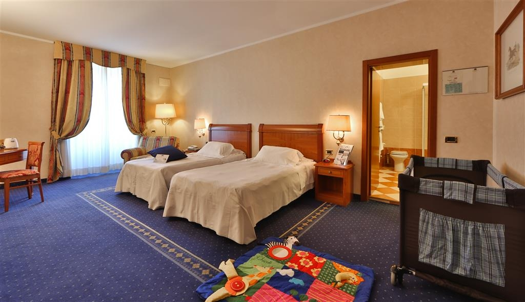 Best Western Hotel Cappello D'Oro - Guest Room - Kids Room