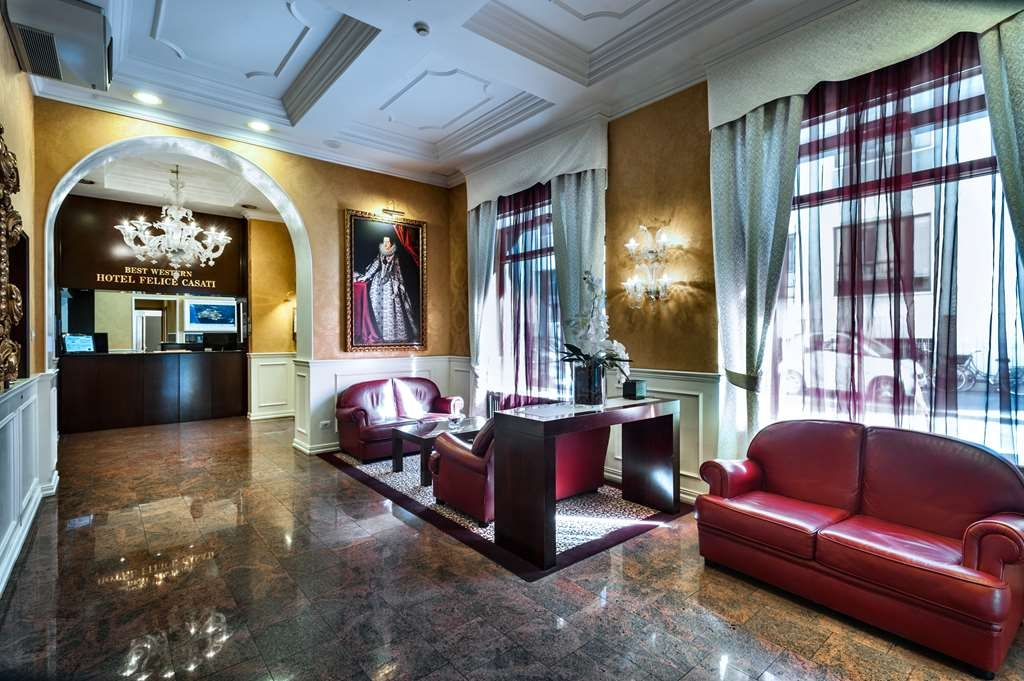 Best Western Plus Hotel Felice Casati - reception