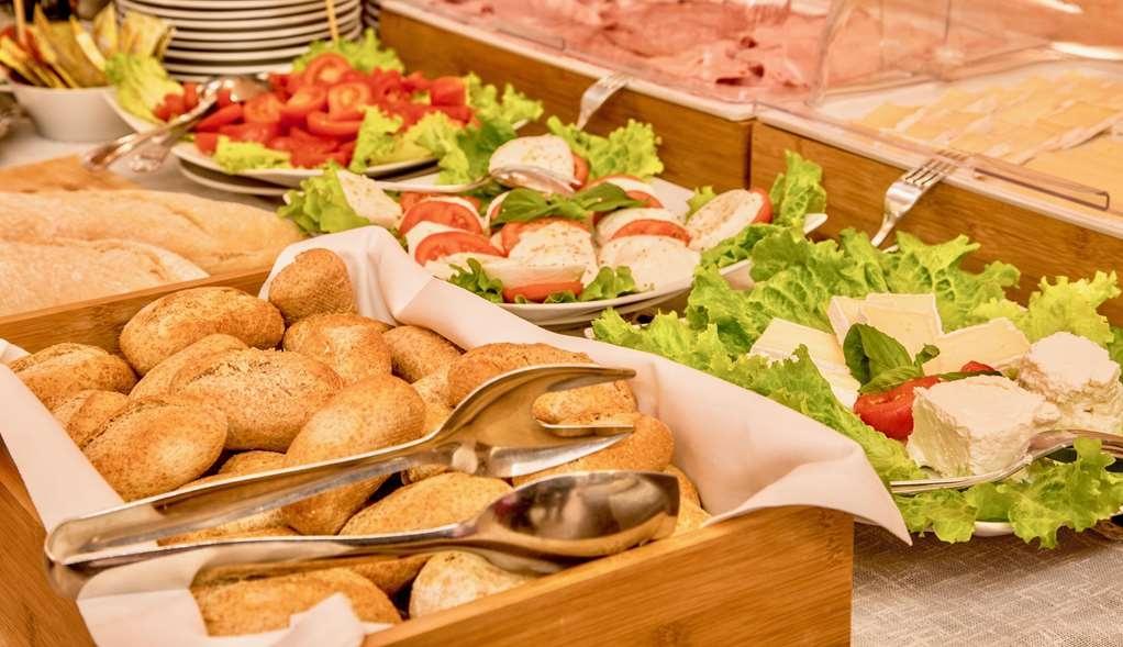 Best Western Hotel San Giusto - Buffet salato San Giusto Hotel Trieste