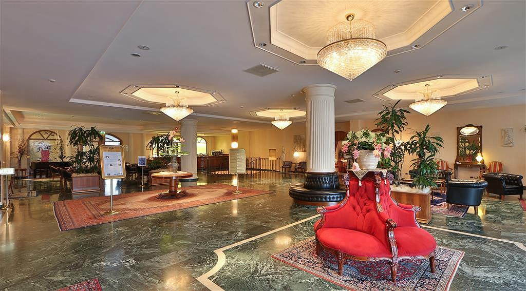 Best Western Hotel Globus City - Lobbyansicht
