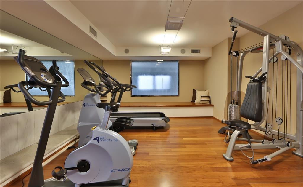 Best Western Hotel Globus City - exercise chambre