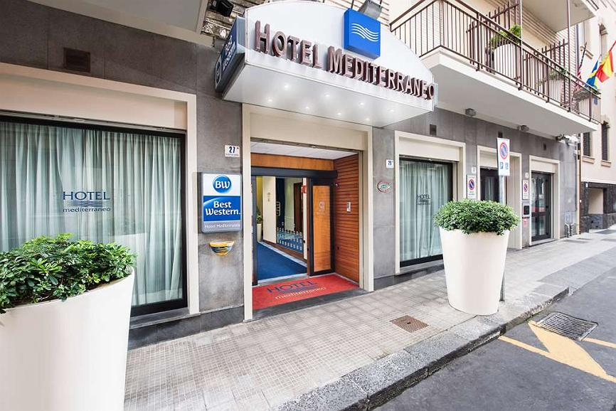 Best Western Hotel Mediterraneo - Aussenansicht