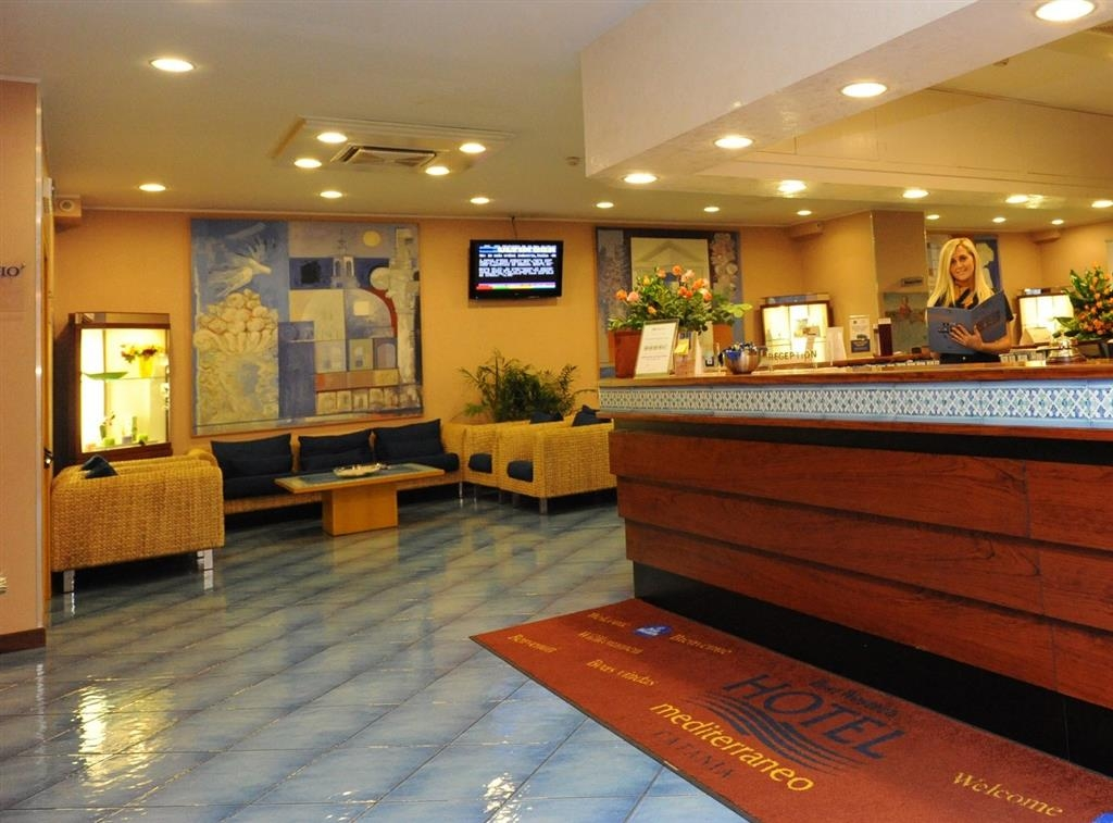 Best Western Hotel Mediterraneo - Réception