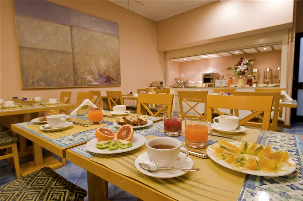Best Western Hotel Mediterraneo - Breakfast Area
