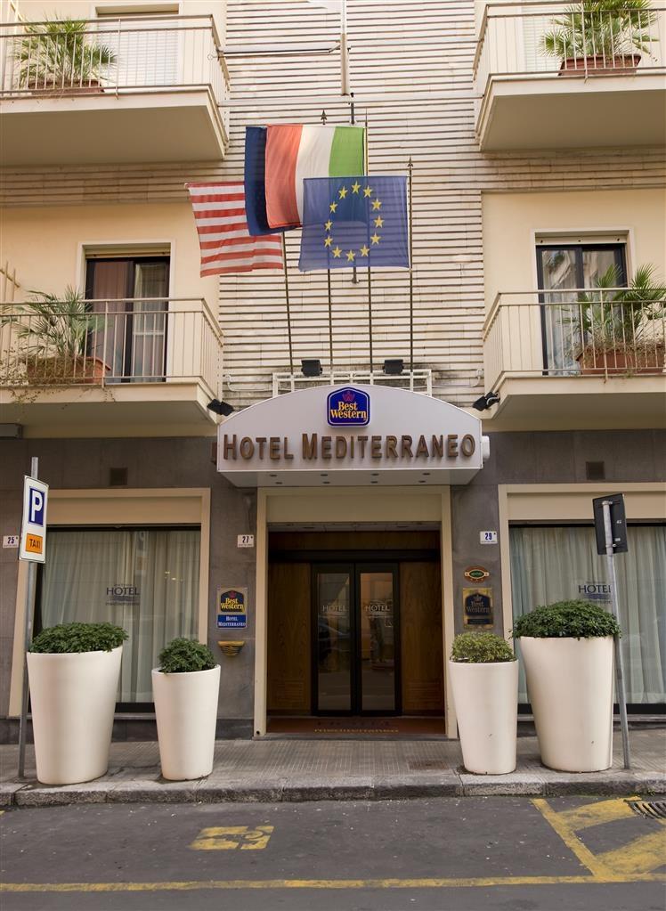 Best Western Hotel Mediterraneo - Vista esterna