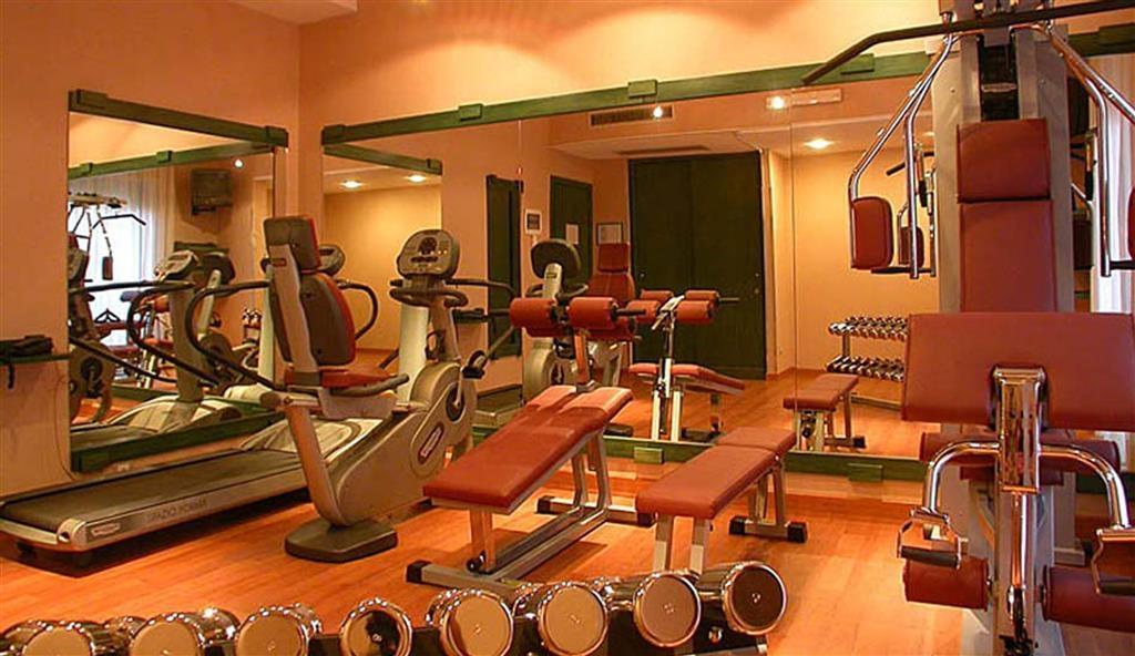 Best Western Hotel Mediterraneo - Fitnessstudio
