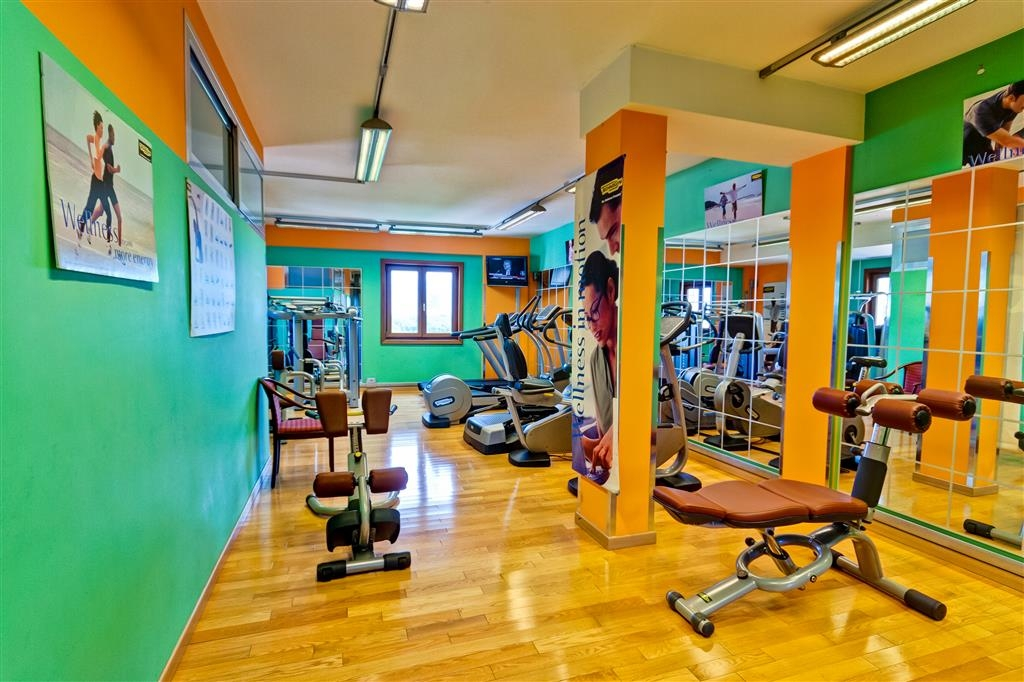 Best Western Hotel Ferrari - Fitness Center
