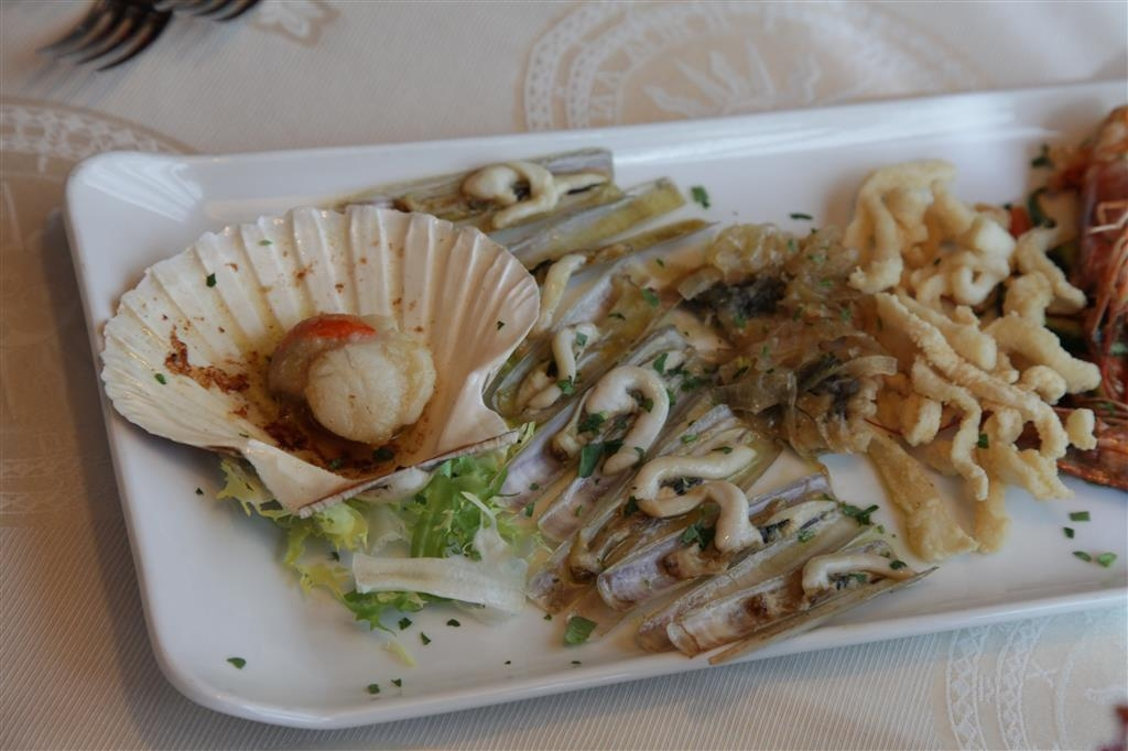 Best Western Hotel Tre Torri - Fish Dishes