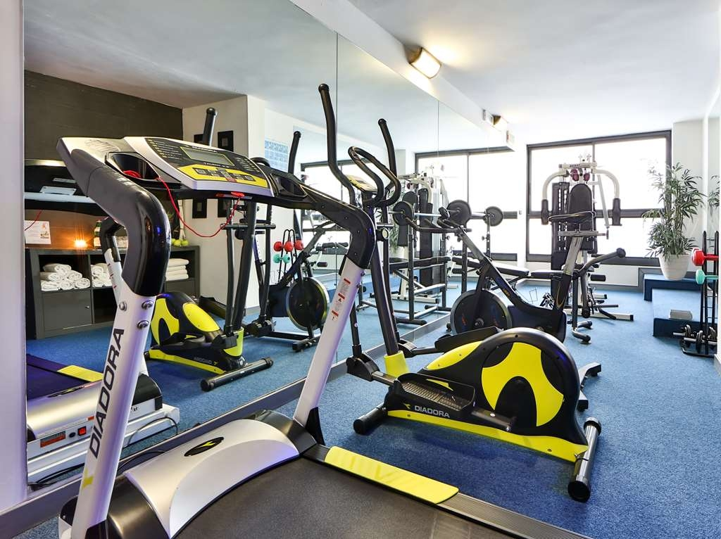 Hotel Nettunia, Sure Hotel Collection by Best Western - Fitnessstudio