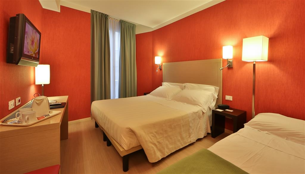 Best Western Hotel Porto Antico - Triple Guest Room