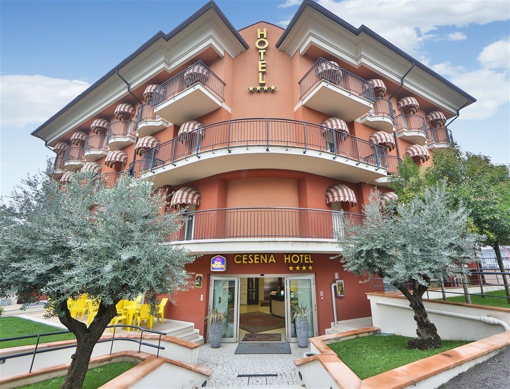 Best Western Cesena Hotel - Facciata dell'albergo