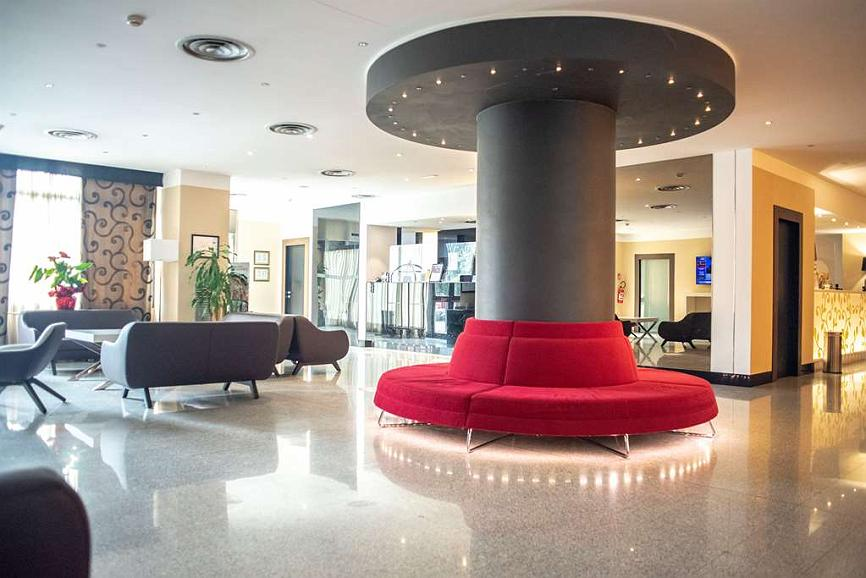 Best Western Hotel Quattrotorri Perugia - Vue du lobby