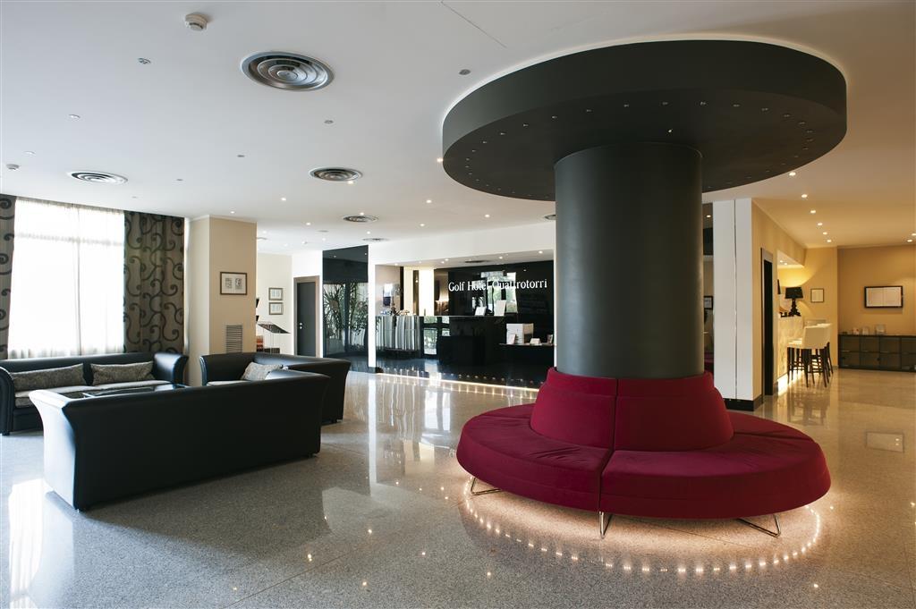 Best Western Hotel Quattrotorri Perugia - Vista del vestíbulo