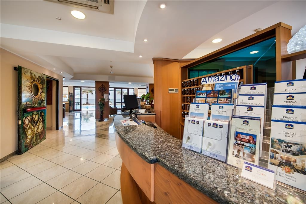 Best Western Hotel Ara Solis - Reception