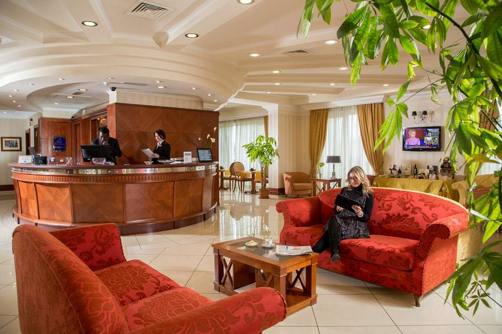 Best Western Hotel Viterbo - Vue du lobby