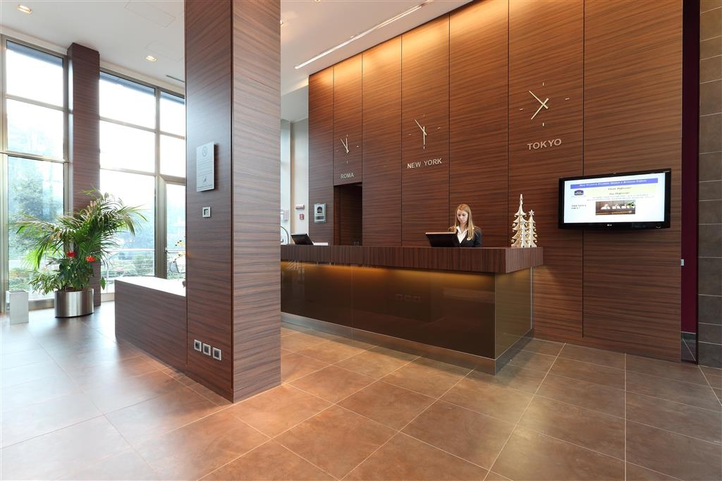 Best Western Plus Hotel Monza e Brianza Palace - Reception