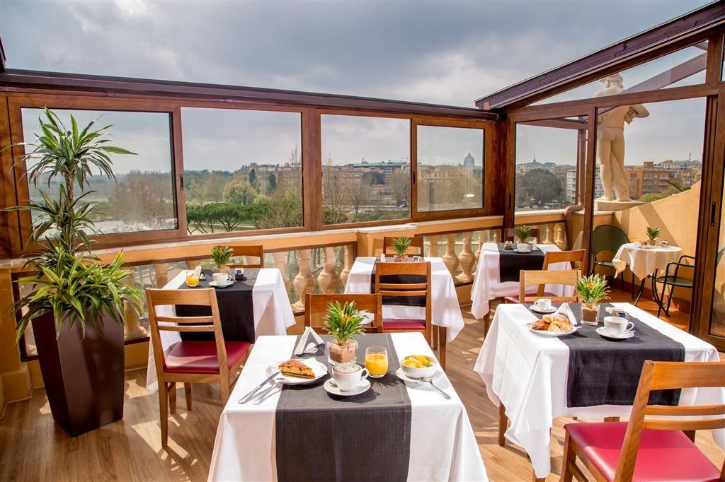 Best Western Hotel Astrid - Terrace/Breakfast Area
