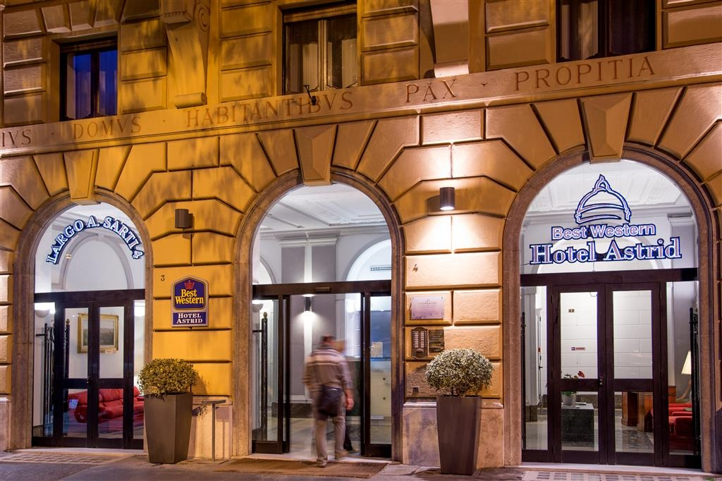 Best Western Hotel Astrid - Vista esterna