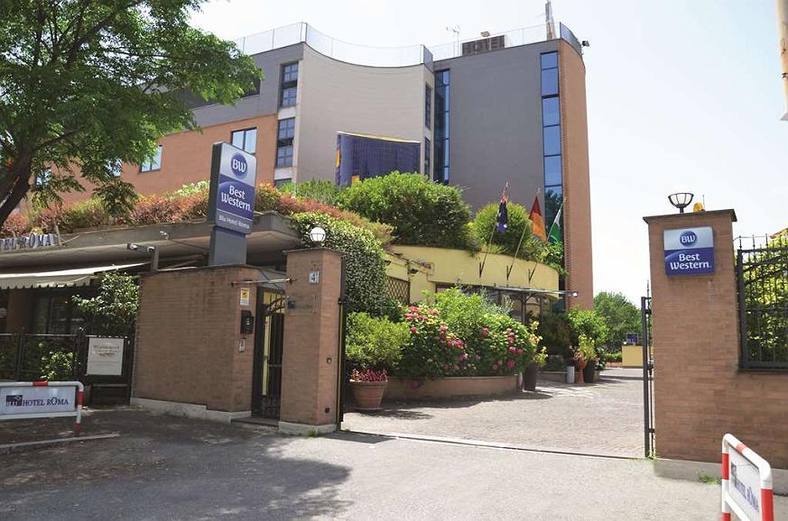 Best Western Blu Hotel Roma - Aussenansicht