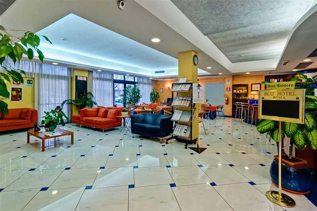 Best Western Blu Hotel Roma - Vue du lobby