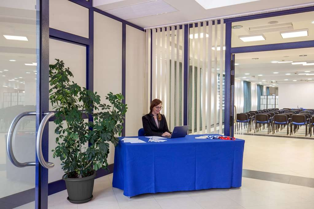 Best Western Blu Hotel Roma - Blu Meeting Center Reception Best Western Blu Hotel Roma