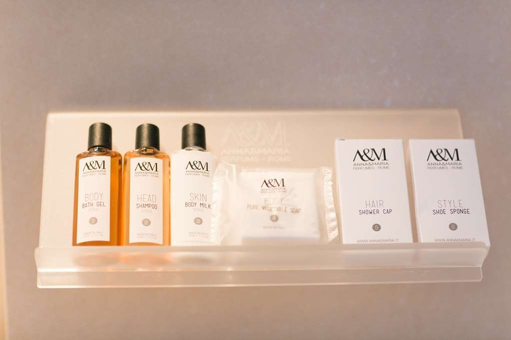 Best Western Premier Hotel Royal Santina - bathroom toiletries