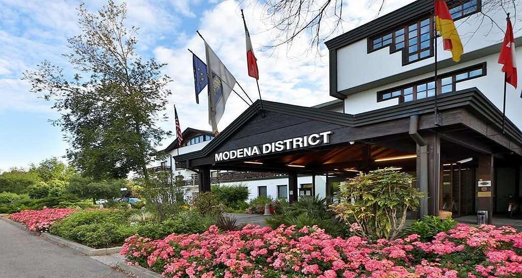 Best Western Hotel Modena District - Esterno facciata hotel ingresso