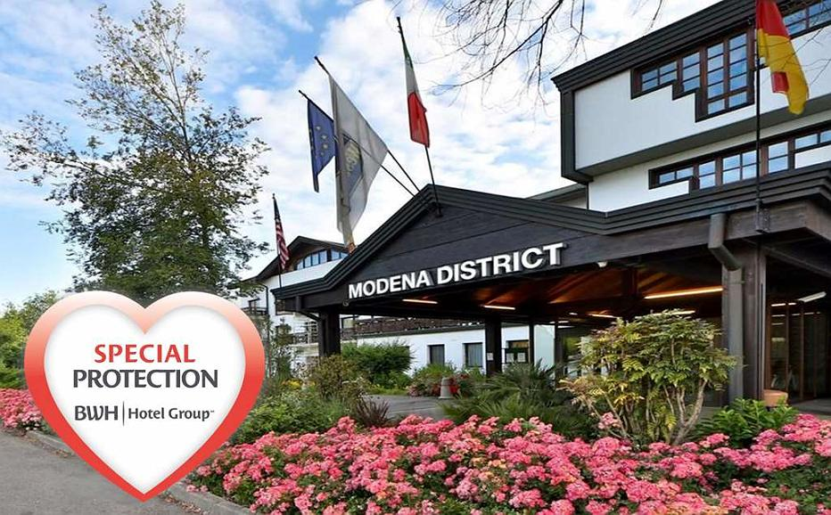 Best Western Hotel Modena District - Vue extérieure