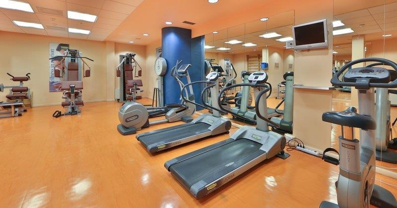 Best Western Plus Hotel Le Favaglie - Fitness Room