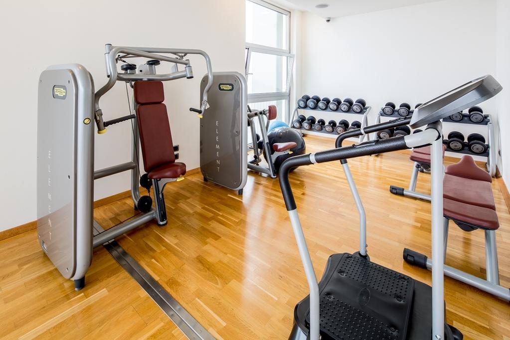 Best Western Premier BHR Treviso Hotel - Fitnessstudio