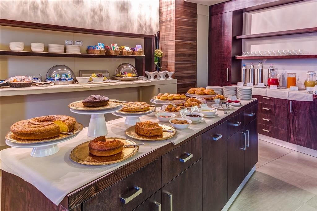 Best Western Plus Hotel Perla del Porto - Le petit déjeuner buffet