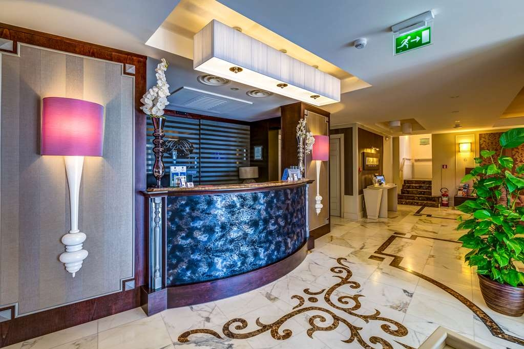 Best Western Plus Hotel Perla del Porto - reception