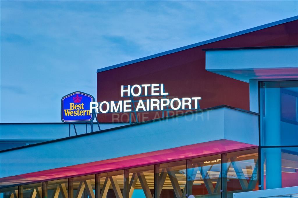 Best Western Hotel Rome Airport - Facciata dell'albergo