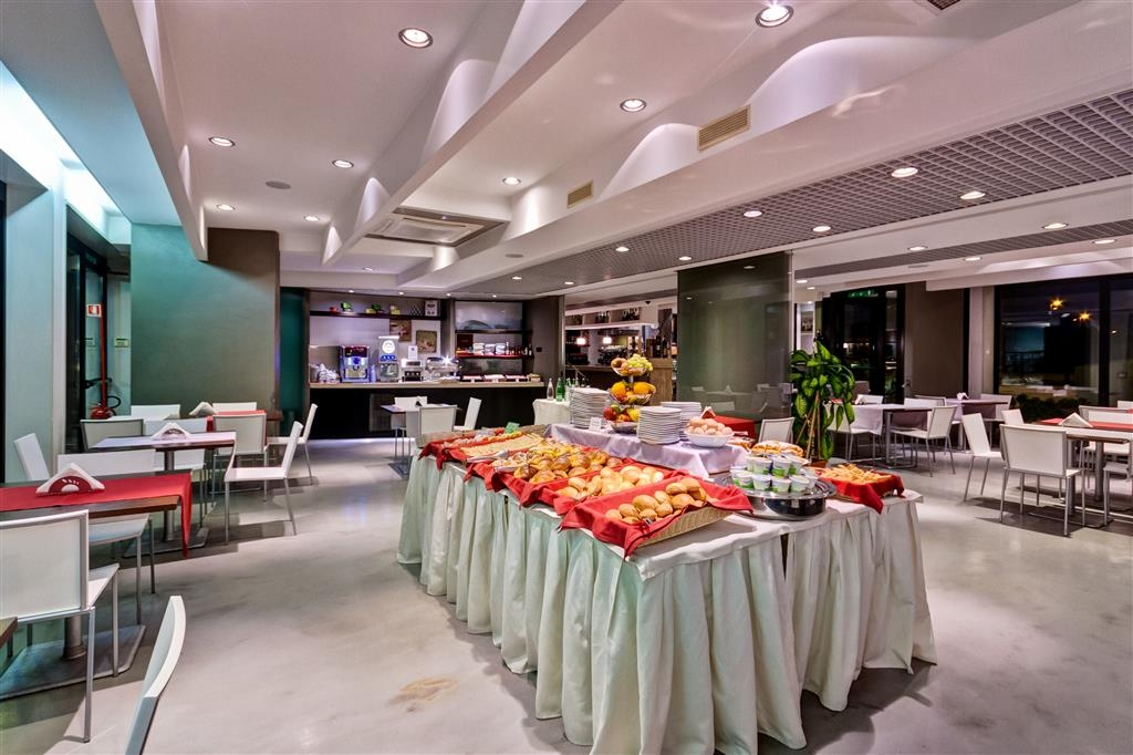 Best Western Hotel Rome Airport - Le petit déjeuner buffet