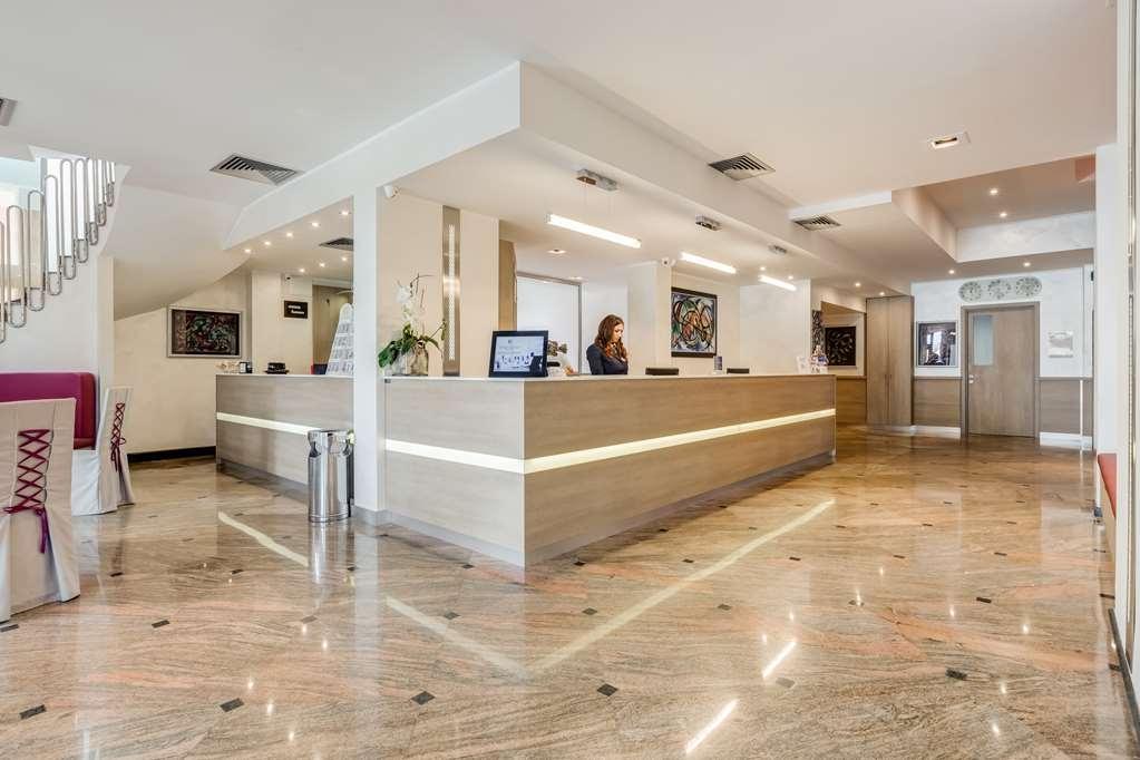 Best Western Hotel Rocca - Vue du lobby