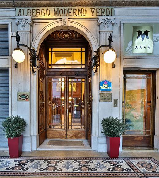 Best Western Hotel Moderno Verdi - Außenansicht