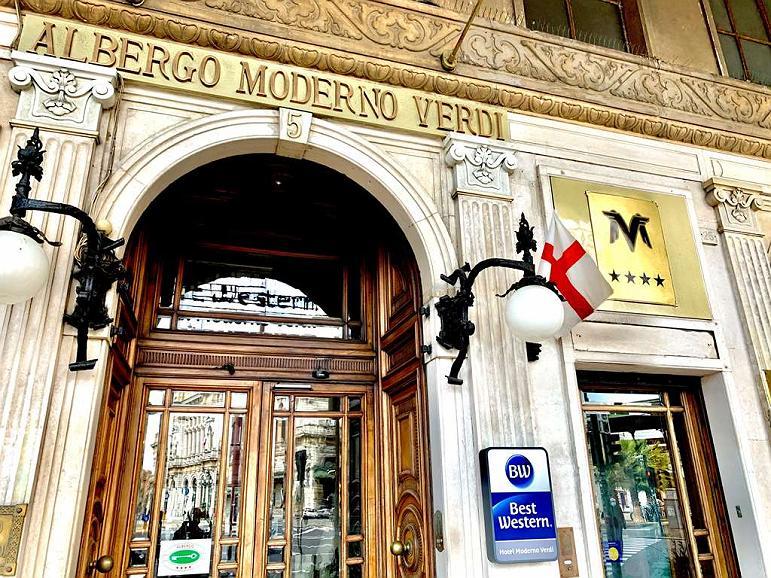 Best Western Hotel Moderno Verdi - Vue extérieure