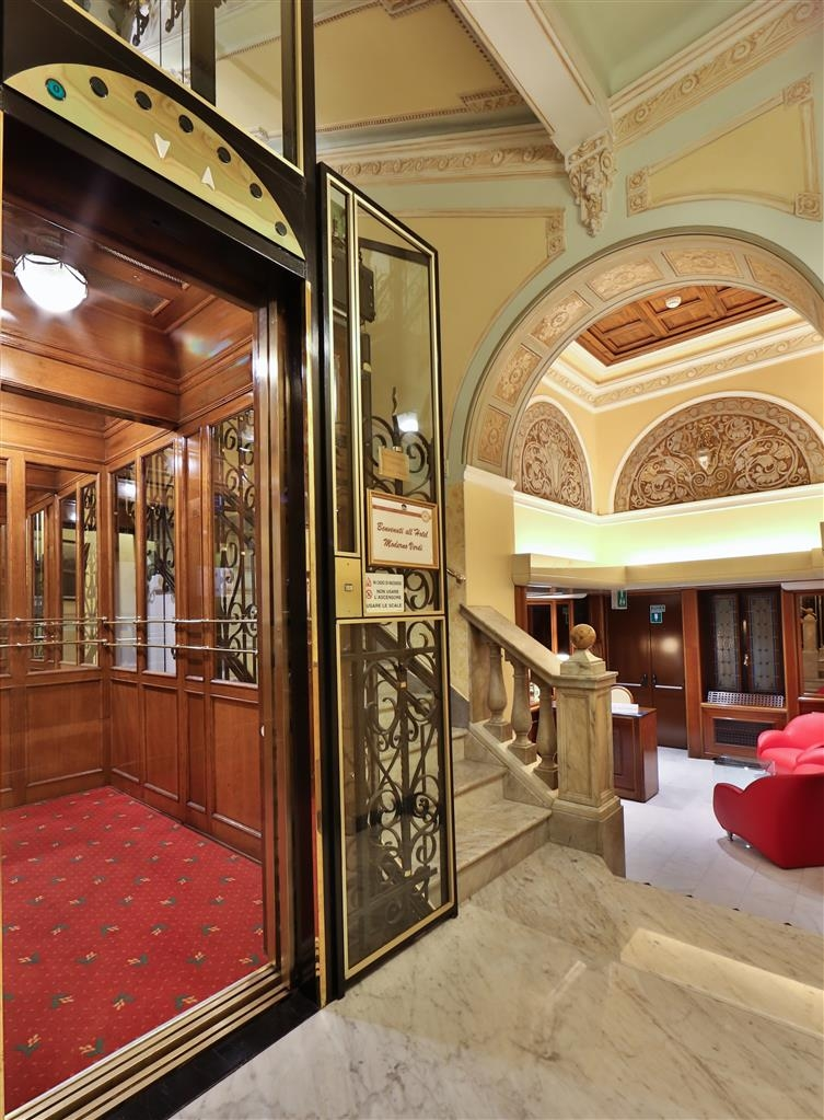 Best Western Hotel Moderno Verdi - Ascensore