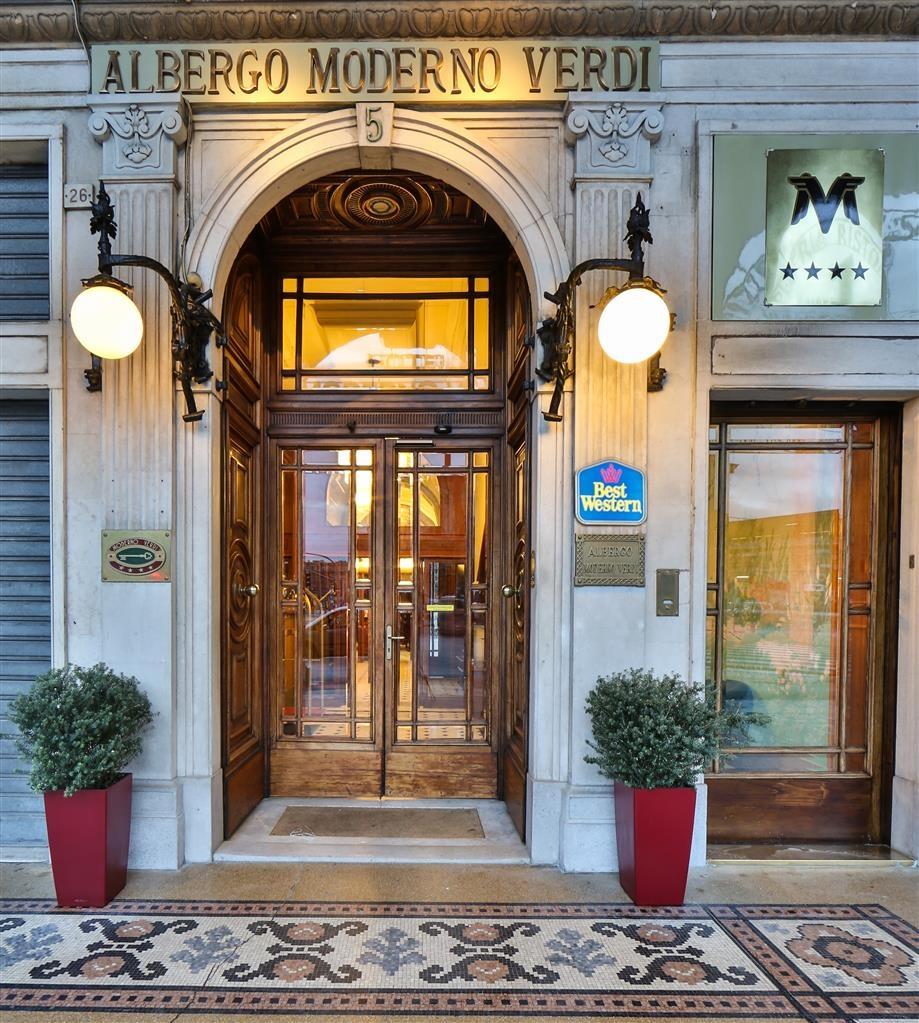 Best Western Hotel Moderno Verdi - Best Western Hotel Moderno Verdi Exterior