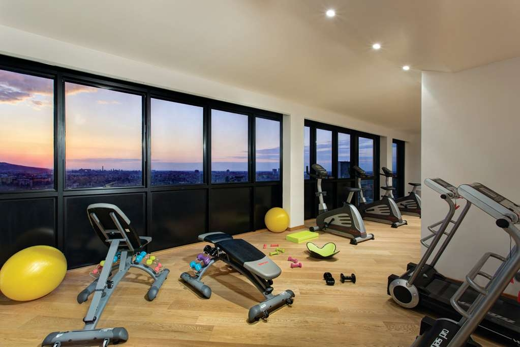 Best Western Plus Tower Hotel Bologna - fitnessraum