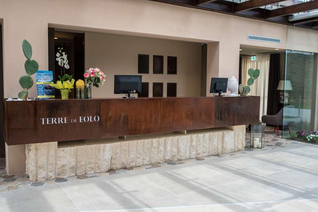 Best Western Plus Hotel Terre di Eolo - Reception Area